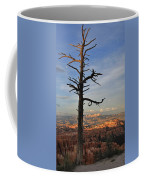 Bryce Canyon Dead Tree Sunset 3 Coffee Mug