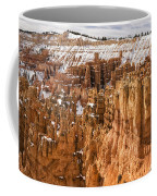 Bryce Canyon Winter Panorama - Bryce Canyon National Park - Utah Coffee Mug