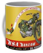 Bsa Bantam Motorcycle Coffee Mug