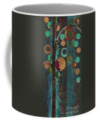 Bubble Tree - Spc02bt05 - Right Coffee Mug by Variance Collections