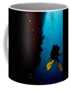Bubbles And Butterfly Fish Coffee Mug