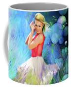 Bubbles In Field Coffee Mug
