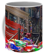 Bubble Gun Seller In New York Coffee Mug