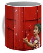 Bubbling Girl Coffee Mug