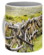 Buck And Rail Fence In The High Country Coffee Mug