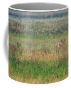 Buck Running In Field Coffee Mug