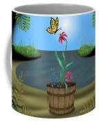 Bucket Butterfly Coffee Mug