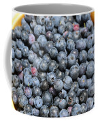 Bucket Of Blueberries Coffee Mug