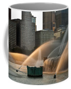 Buckingham Fountain Sidelight  Coffee Mug