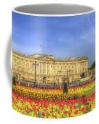 Buckingham Palace London Panorama Coffee Mug