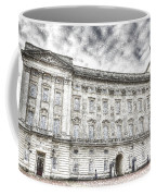 Buckingham Palace London Snow Coffee Mug