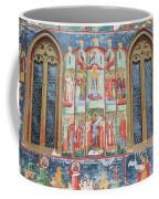 Bucovina Monastery Fresco Coffee Mug