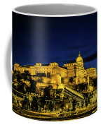 Buda Castle At Night Coffee Mug