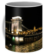 Chain Bridge And  Buda Castle  Coffee Mug