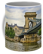 Budapest - Chain Bridge Coffee Mug