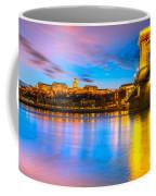 Budapest - Chain Bridge And Buda Castle -  Hungary Coffee Mug
