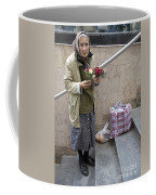Budapest Flower Woman Coffee Mug