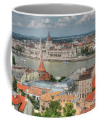 Budapest Overview Coffee Mug