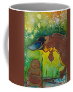Buddha And The Divine Platypus No. 1375 Coffee Mug