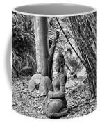 Buddha Black White Liberia Parish  Coffee Mug