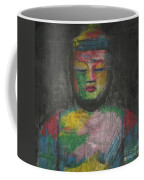 Buddha Encaustic Painting Coffee Mug