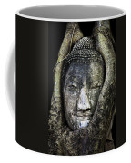 Buddha Head In Banyan Tree Coffee Mug