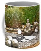 Buddha Looks At Yin And Yang Coffee Mug