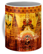 Buddha With Butterflies Coffee Mug