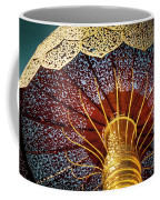 Buddhas Path To Enlightenment, Golden Umbrella Coffee Mug