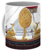 Buddhist Dharma Wheel Coffee Mug