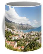 Budva Along The Adriatic Sea In Montenegro Coffee Mug