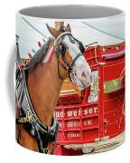 Budweiser Clydesdale In Full Dress Coffee Mug