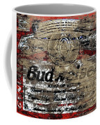 Budweiser Wood Art 5c Coffee Mug