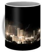 Budwesier Brewery Lightning Thunderstorm Image 3918  Bw Sepia Im Coffee Mug by James BO  Insogna