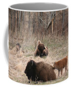 Buffalo And Calf Coffee Mug