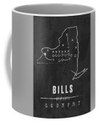 Buffalo Bills / Nfl Football Art / Orchard Park New York Coffee Mug by Damon Gray