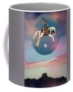 Buffalo Girls Over Abiquiu I Coffee Mug