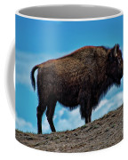 Buffalo In Profile Coffee Mug