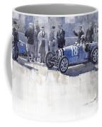 Bugatti 35c Monaco Gp 1930 Louis Chiron  Coffee Mug