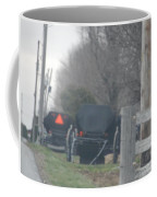 Buggies Parked At The Edge Of The Road Coffee Mug