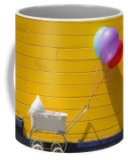 Buggy And Yellow Wall Coffee Mug by Garry Gay