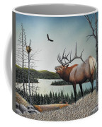 Bugling Elk Coffee Mug
