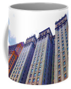 Building Closeup In Manhattan 14 Coffee Mug