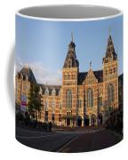 Building Exterior Of Rijksmuseum. Amsterdam. Holland Coffee Mug