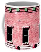 Building In Red And Green Coffee Mug