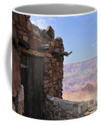 Building On The Grand Canyon Ridge Coffee Mug