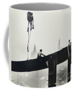 Building The Empire State Building Coffee Mug