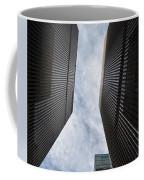 Builing Into The Cloud Coffee Mug