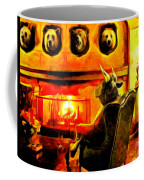 Bull At Night Coffee Mug