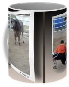 Bull Challenge - Gently Cross Your Eyes And Focus On The Middle Image Coffee Mug